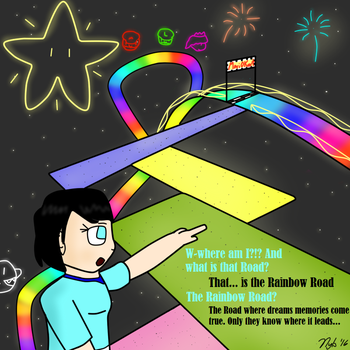 The Rainbow Road by Nyberim
