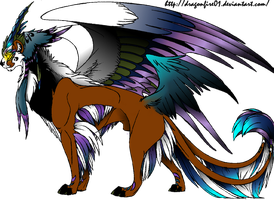 Gryphon Hybrid Adoptable by StellaS-Adoptables