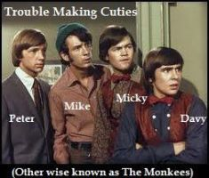 The Monkees:Trouble Making QTs by Princess-Kraehe