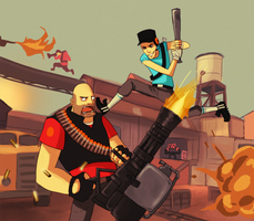 team fortress 2 by Detkef