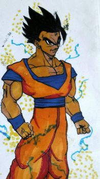 Ultimate Gohan  by KCAC