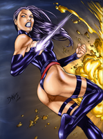 Psylocke Sketch Colored by gogui