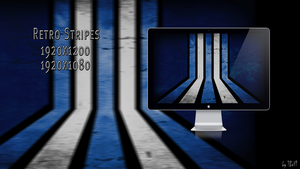 Retro Stripes Wallpaper by TBoYT