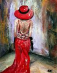 Lady In Red IV by ThisArtToBeYours