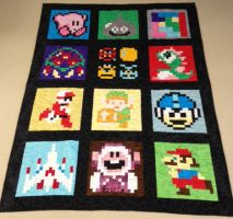 NES Sampler Quilt by quiltoni
