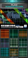 Plaid Tartan Seamless Tileable Pattern by ravirajcoomar
