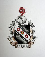 conway coat of arms by opioid