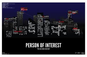 You Are Being Watched (Person of Interest Poster) by marekmaurizio