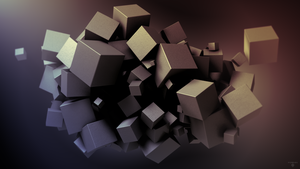 Cubes Wallpaper by FoehnGFX
