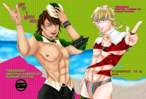 TIGER and BUNNY doujin's Cover by granzon
