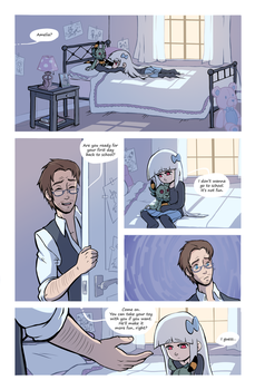 Amelia Monster page 1 by TalaSeba