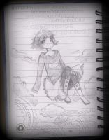 Chihiro planner sketch by m-0-c-h-i