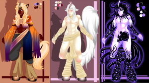 Male Aracorn Adopt Sale ( Closed) by GiaZeries