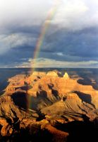 Grand Canyon Rainbow many years ago by NDCott