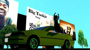 Deniro Farrar - Big Tookie Animated by ThaMaJesticArtist