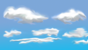 Clouds by iamdravenman