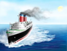 SS United States: Her Legacy by ZeroGal5