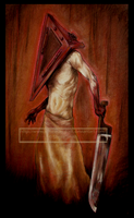 Pyramid Head by LucitaniaMarie