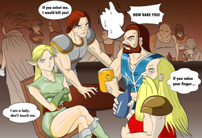Dungeons and Dragons - PLAYER SELECT by neo-verse