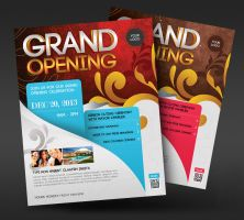 Grand Opening Event Flyer by satgur