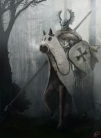 Teutonic Knight by DLDigital
