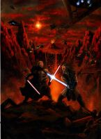 Sith vs Jedi by Nordheimer