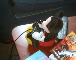 Mickey on the PS2 by Dragonrider1227