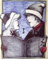 Here We Come a Caroling by CrowDevine