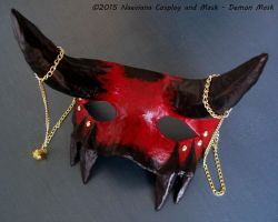 Demon Mask by Naeviana