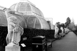 Stone Guards at Kew by Zhaena