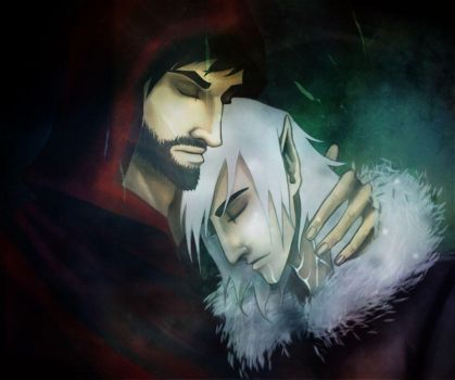Hawk and Fenris by scenographe