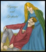 Ryn and Glorfindel by Captain-Savvy