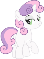 Sweetie Belle naked PNG not final by leopurofriki