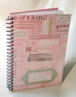 Altered Pink Journal by Midgit2230
