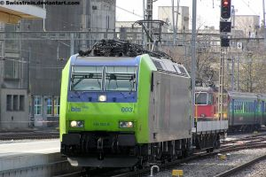 BLS Re 485 003-8 by SwissTrain