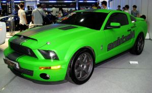Lime Green Shelby Cobra by toyonda