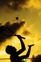 yellow tennis by tayfunes