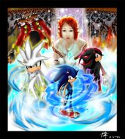 Sonic The Hedgehog by The-Blue-Wind