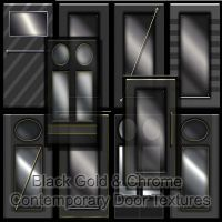 CONTEMPORAY DOOR TEXTURES by roseenglish