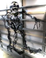 HOSTLESS VENOM LIFESIZED PROP by symbiote-x
