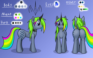 MLP - Becky ref v2 by FunkyBacon