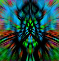 Esquizoid in flux by Gilvany-Oliveira