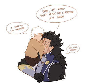 Dad of the Year by Blue-Mouse-Artbox