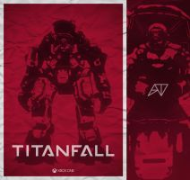 Titanfall Poster WIP by adamt4050