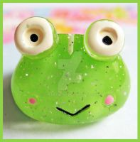 Froggy Ring by cherryboop