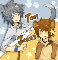 Tom and Jerry by Sellleh