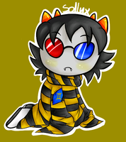 Troll Snuggies- Sollux by PPGxRRB-FAN