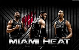 Miami Heat Wallpaper by rhurst