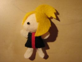 Mini Mini Deidara Plush Thing by lostrunaway