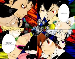 Vongola Rings Battle by ted1369